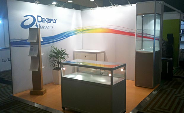 3x3 hire exhibition stand with upgrades