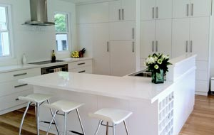 Custom residential kitchen construction and joinery